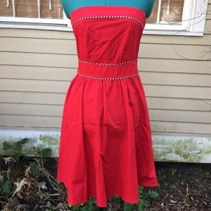 Vintage Y2K Strapless Rockabilly Dress